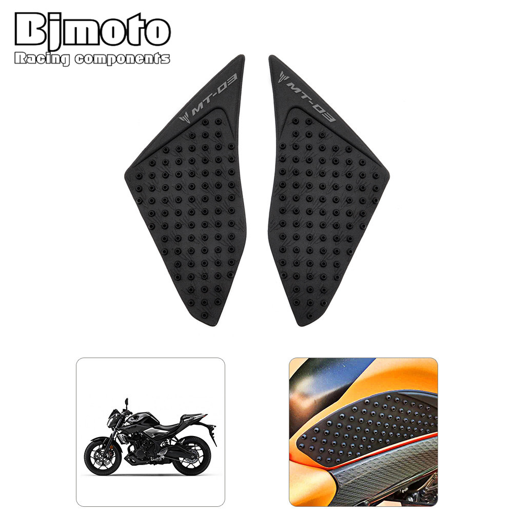 For Yamaha MT-03 MT03 2016 Motocross side tank pad protector decal sticker motorcycle Anti slip Side Gas Knee Grip Traction Pad bjmoto for ktm duke 390 200 125 motorcycle tank pad protector sticker decal gas knee grip tank traction pad side