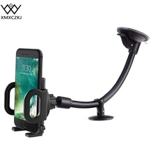 XMXCZKJ Universal Windshield Dashboard Flexible Long Arm Car Phone holder Mount for iPhone X 8 Xiaomi phone