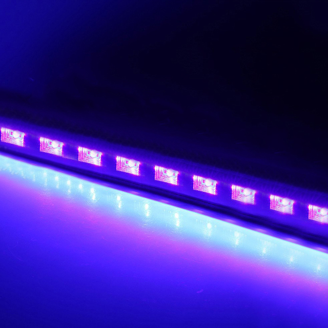 Purple LED Par Blacklight UV Disco DJ Light Laser Stage Light 6/9/12LED Bar for Party Club Halloween Christmas Wall Washer Lamp