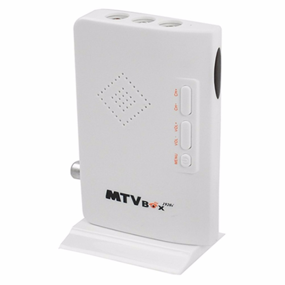 MTV Box PC Receiver Tuner External LCD CRT VGA TV Tuner HD 1080P TV BOX Speaker For HDTV Channel Gaming Control S798