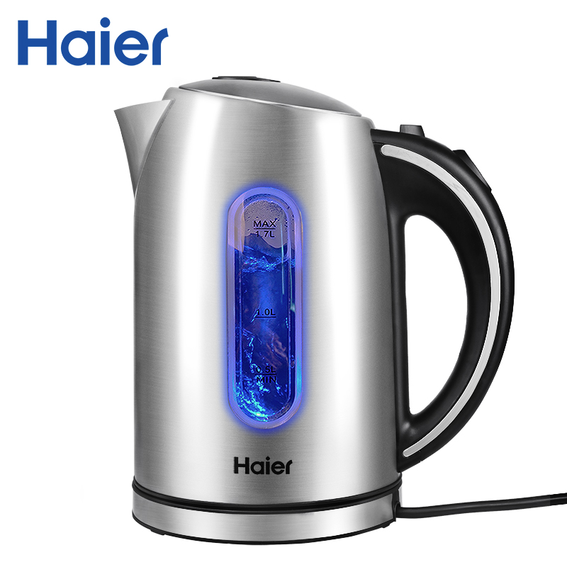 Electric Water Kettle Haier HEK-182 Auto Power-off Protection Wired Handheld Instant Heating Electric Kettle hotel decoration 304 stainless steel electric heating towel racks house furniture fitment appliance heating towel rack icd60048