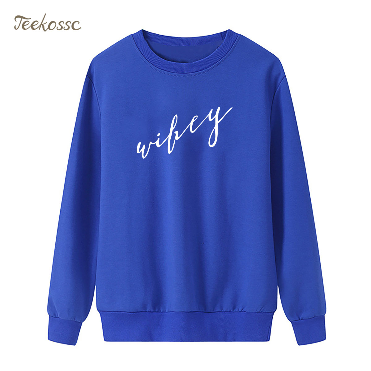 Wifey Sweatshirt Women Letter Print Hoodie 2018 New Brand Winter Autumn Lasdies Pullover Loose Fleece Hip Hop Black Streetwear