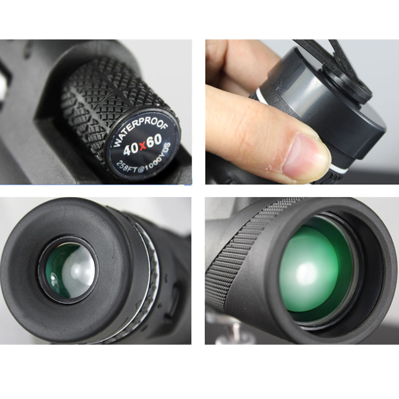 Monocular 40×60 Powerful Binoculars – Zoom Telescope w/ night vision 4