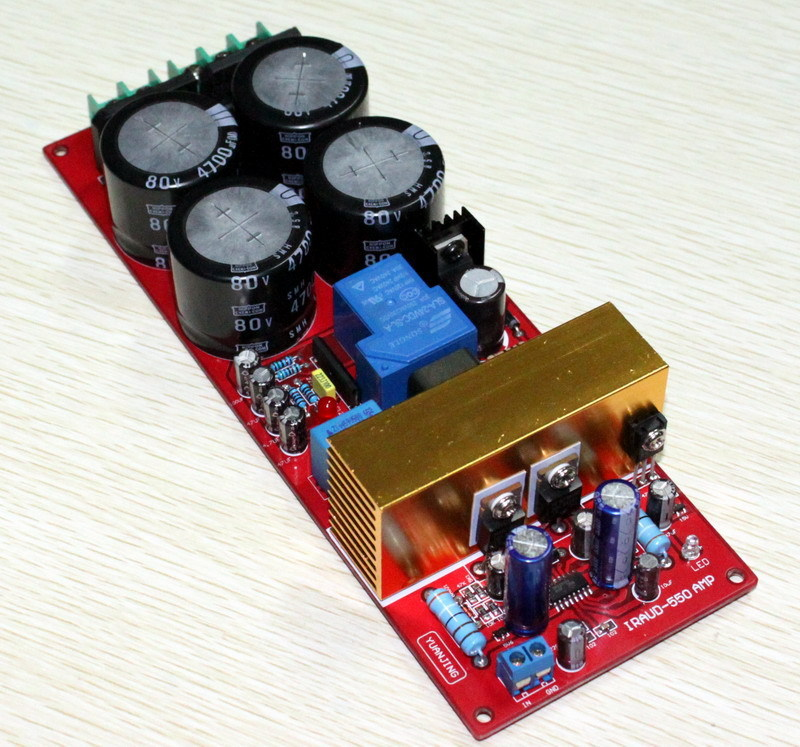 yjhifi IRS2092 IRFB23N15D top Class D amplifier Mono 700w Audio digital Power amplifier board Class D AMP board