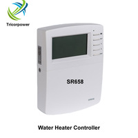 SR658 Controller Thermal Energy Transferred from Tank to Tank / Heat Exchanger and Swimming Pool Heating