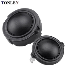 цена на 2pcs Silk Film Tweeter Speaker Units 6ohm 30W 4ohm 35W Treble Dome Horn 25 core HIFI NdFeB Car Tweeters Ultra Sound Loudspeakers
