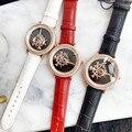 Брендовые стильные вращающиеся часы с мечом для женщин  крутые европейские популярные часы большого размера  полностью Украшенные стразам...
