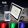 RGB Reflector Led Floodlight 10W 20W 30W 50W LED Flood Light Waterproof IP65 Outdoor Lighting 220V