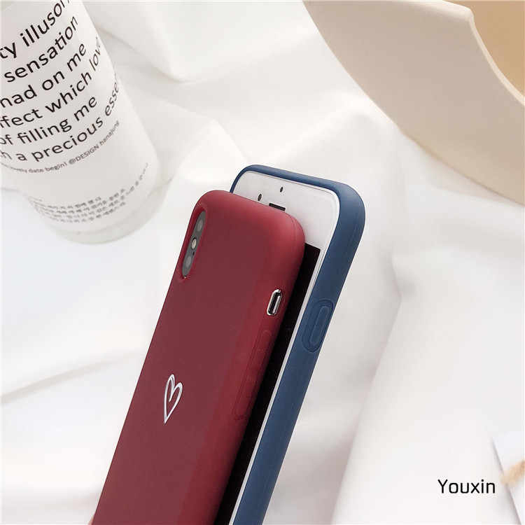 Capa de telefone para iphone 7 8 6s plus x xr xs max 11 pro max casos de silicone macio tpu capa fundas para iphone xr