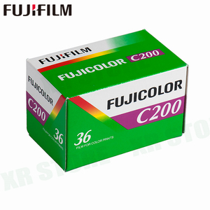1 Roll Fujifilm Fujicolor C200 Color 35mm Film 36 Exposure for 135 Format Camera Lomo Holga 135 BC Lomo Camera Dedicated(China)