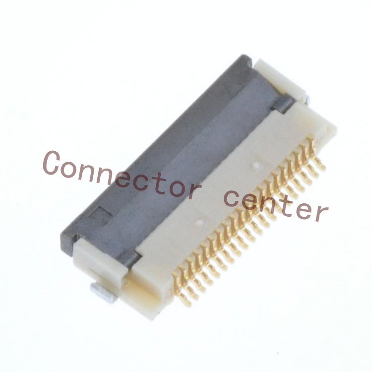 Original FPC/FFC ZIF Connector Hirose HRS 0.5mm Pitch 20Pin 2.0mm Height Single Side Front Flip FH12-20S-0.5SH