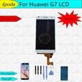 AAA Качества Для Huawei Ascend G7 ЖК-Экран С Сенсорным Экраном Дигитайзер Ассамблеи Черный Или Белый + Инструменты Бесплатная Доставка
