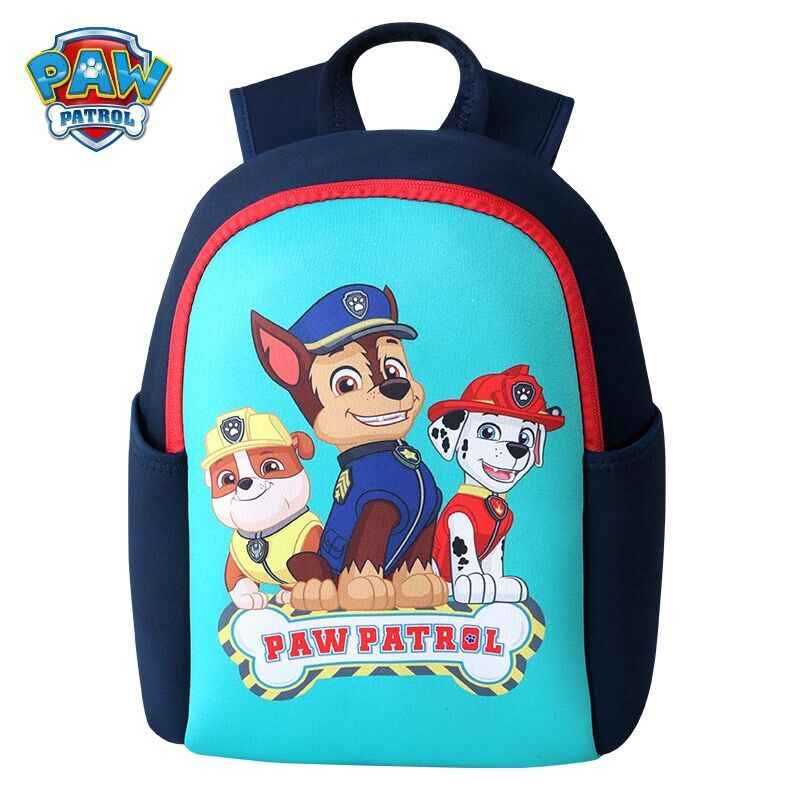 2019 genuino pata patrulla Lindo bolso de escuela de bolsa impermeable niños pack mochila con cremallera mochilas escolares infantis