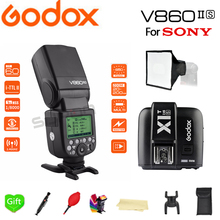 Paypal Accpect, Godox V860II-S E-TTL HSS 1/8000s Li-ion Battery Speedlite Flash + X1T-S for Sony A7R A7RII A58 A99 A6000 Camera
