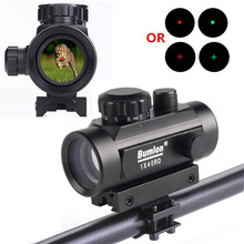 Bumlon Tactical Holographic 1x40 Red Dot Sight Airsoft Scope Red Green Dot/Cross