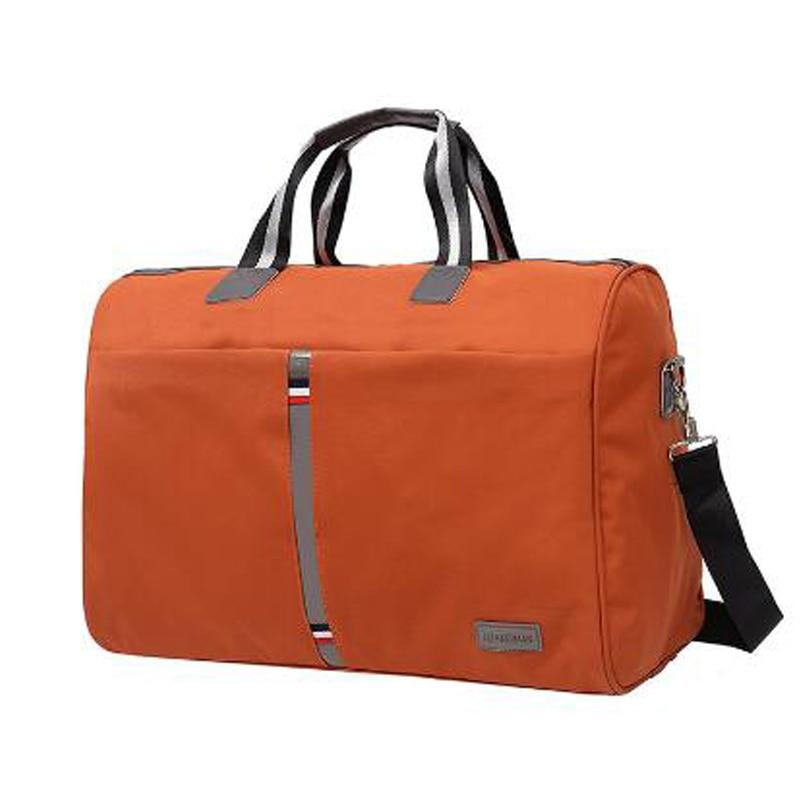 2018 Foldable portable shoulder bags Waterproof Men's Travel bag Travel luggage large capacity Travel Tote Women More color 1