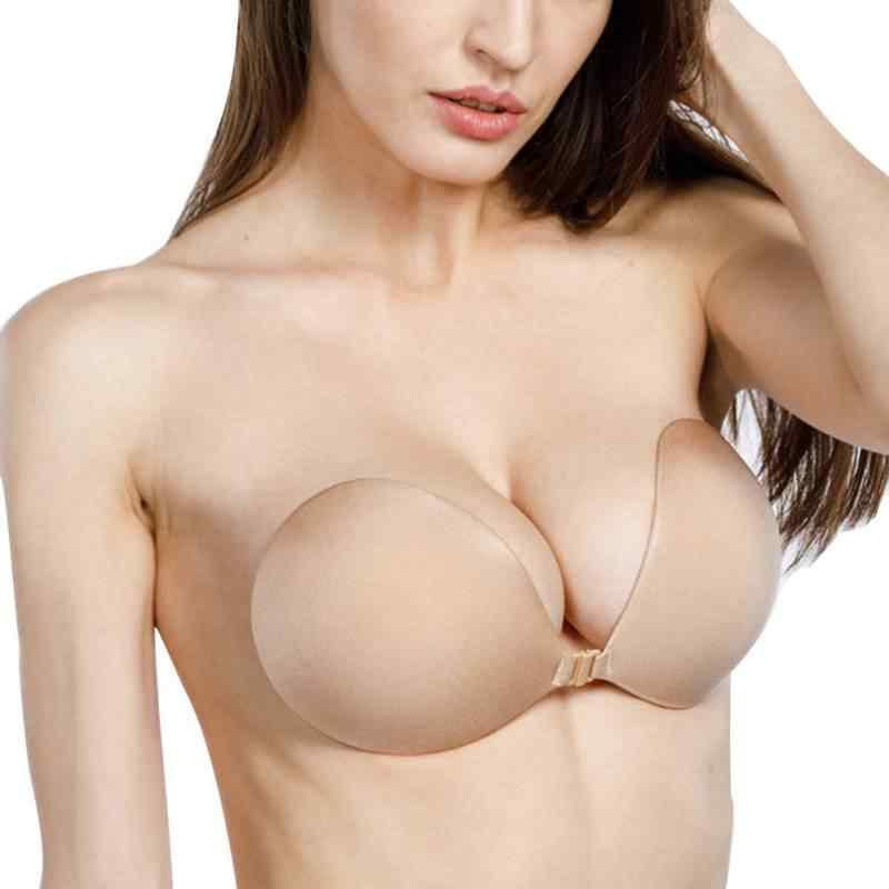 9221a3f3dd Women Strapless Backless Stick On Invisible Bras for Dress Female Sexy  Silicone Bra Lingerie Women Seamless