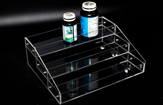 2 sets 10 5 25 30cm Acrylic cosmetics display box showing stand rack candy collection box