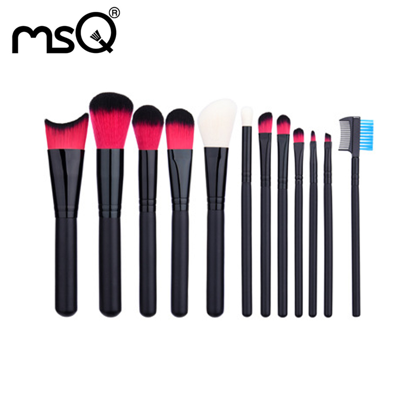Makeup Brush Set Professional Makeup Brushes Set Soft Synthetic Hair Make-up Brushes Kit Wood Handle Cosmetics Brush For Make-up free shipping durable 32pcs soft makeup brushes professional cosmetic make up brush set