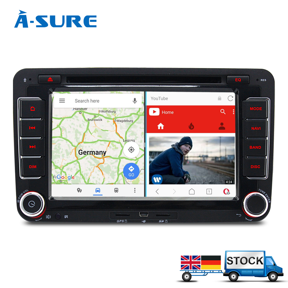 a sure android 7 1 radio car dvd player navigation gps for. Black Bedroom Furniture Sets. Home Design Ideas