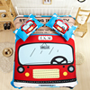 Free Shipping New Design Children Cartoon Lovely Bus Girls 3 4pcs Bedding Without The Filler Home