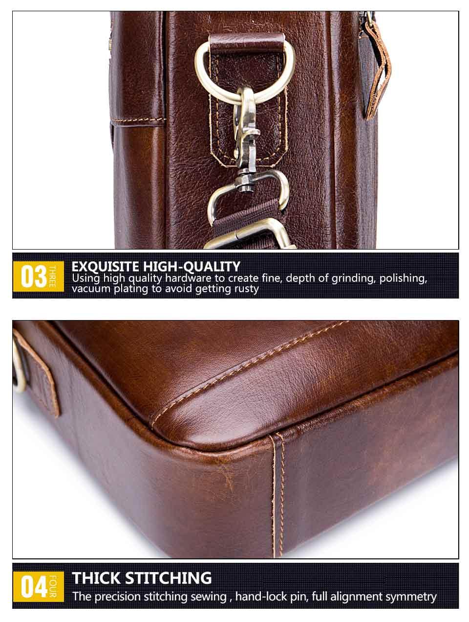 comercial pasta couro real do vintage mensageiro saco casual saco negócios