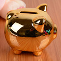 Hot!summer style Ceramic Piggy Bank Chinese Flavour Money Box Ceramic Coin Bank Home Decoration Accessories,Small Size