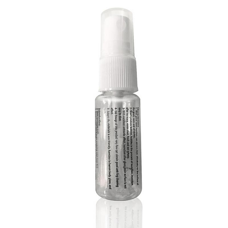 Hot Defogger Solid State Defog Anti Fog Agent for Swim Goggle Glass Lens Diving Mask Cleaner Solution Antifogging Spray Mist 1pc(China)