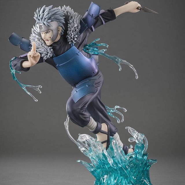 19 cm Anime Naruto Shippuden XTRA Shodai Hokage Senju Tobirama pcv figurka model kolekcjonerski zabawki
