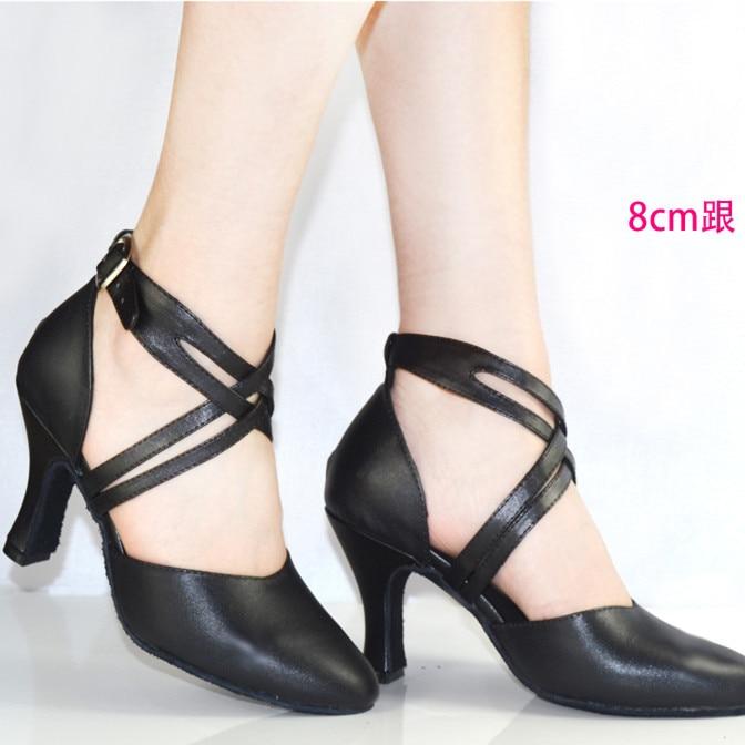 Nuevo 2019 Zapato de mujer en zapatos de baile de cuero Zapato de - Zapatillas - foto 1