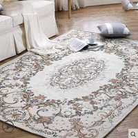 Ковры для гостиная напольный коврик для детей Детская комната толстые одеяло цветок цвет и s украшения спальни