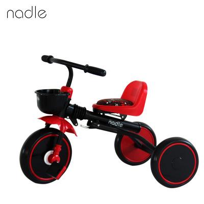 Triciclo de 2 años, 3, 4, portátil plegable bicicleta niños coche de juguete bebé bicicleta cochecito
