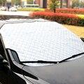 Car Window Sun Shade Auto Windshield Snow Cover For SUV And Ordinary Car Sunshade Reflective Foil Snow Blcok Anti-UV Accessories