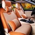 Assento de carro mais popular da coréia do sul hotsale almofada do assento de carro para honda ford mercedes-benz assento de carro peugeot cobre f-25