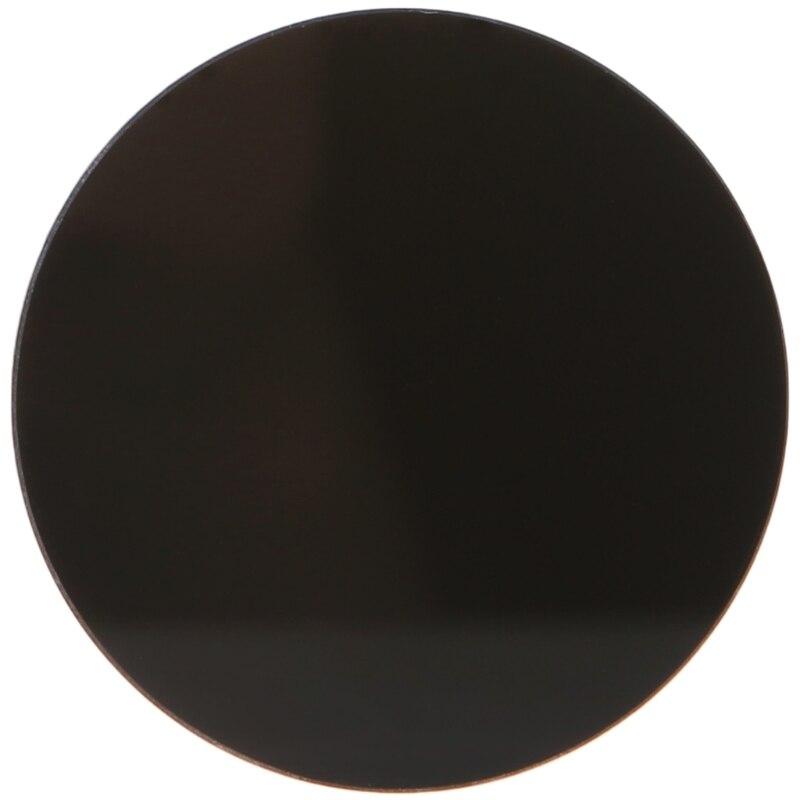 mdhsh ZWB2 Ultravioletter UV-Bandpassfilter UV-Taschenlampendurchmesser 42 mm Dicke 1,9 mm