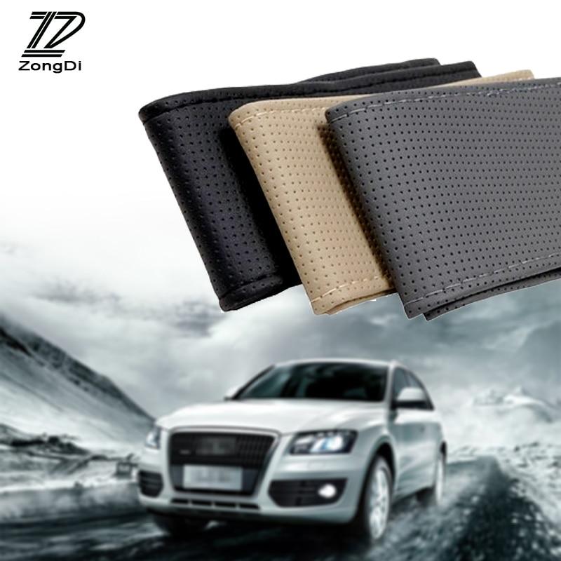 Fiat Punto Black /& Grey Sports Grip Steering Wheel Cover Glove 37cm