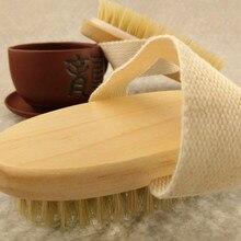 High quality Premium Natural Bristle Wooden Bath Shower Beau