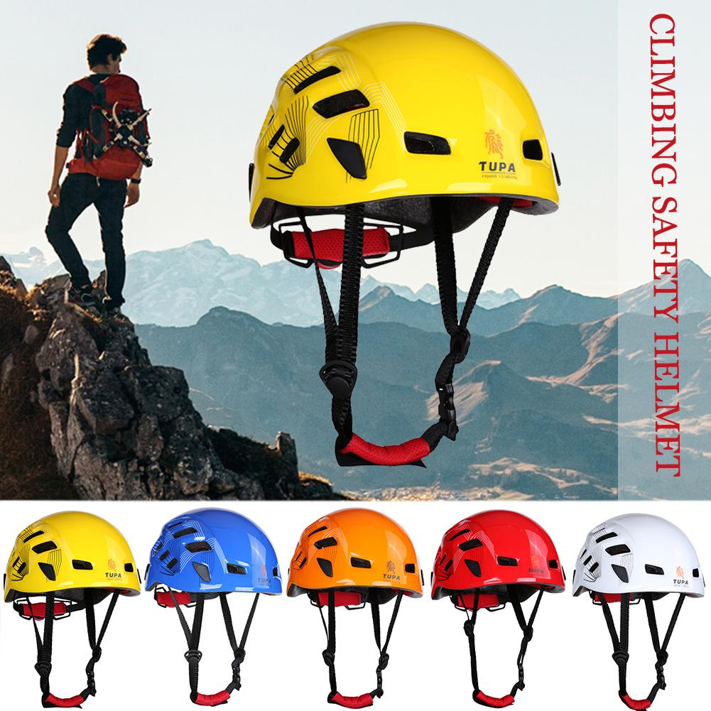 Pro Folding Rock Climbing Rope Bag Safety Helmet for Aerial Work Caving