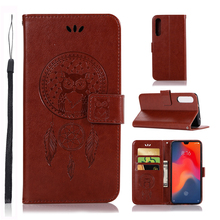 For Cover Huawei P30 Case Dreamcatcher Leather Flip Wallet for Phone 6.1
