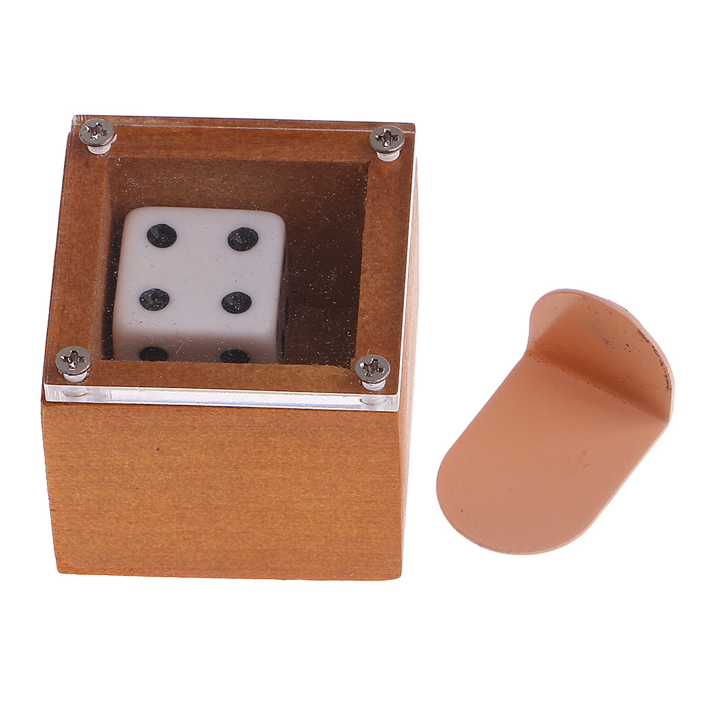Mind Magic Moving Dice Die Magic Trick Props Mystery Badlands Bob Set for Street Magic Classic Toys Magic Tricks Conjuring Props