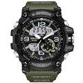 2017 Новый G Стиль Модного бренда Спортивные Часы Мужчины Водонепроницаемый Спортивные Военные Часы S-shock мужская Роскошь Кварц светодиодные Цифровые Часы