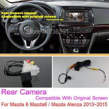 For Mazda 6 Mazda6 / Mazda Atenza 2013~2014 / RCA & Original Screen Compatible / Car Rear View Camera / Back Up Reverse Camera
