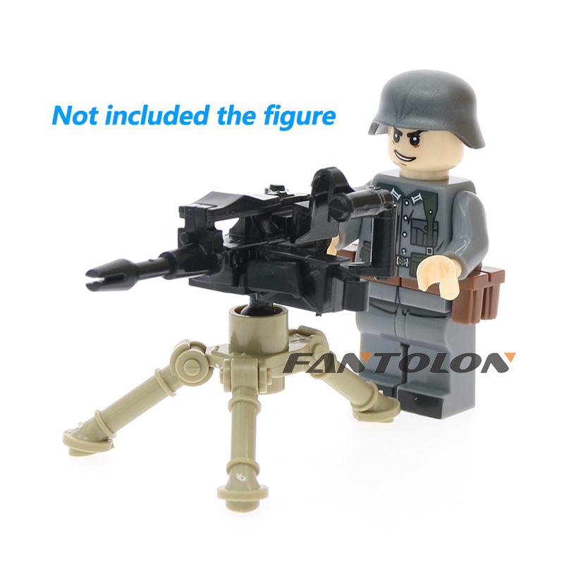MOC WW2 military weapons accessories MK21 MK153 GUNS soldiers toys for children
