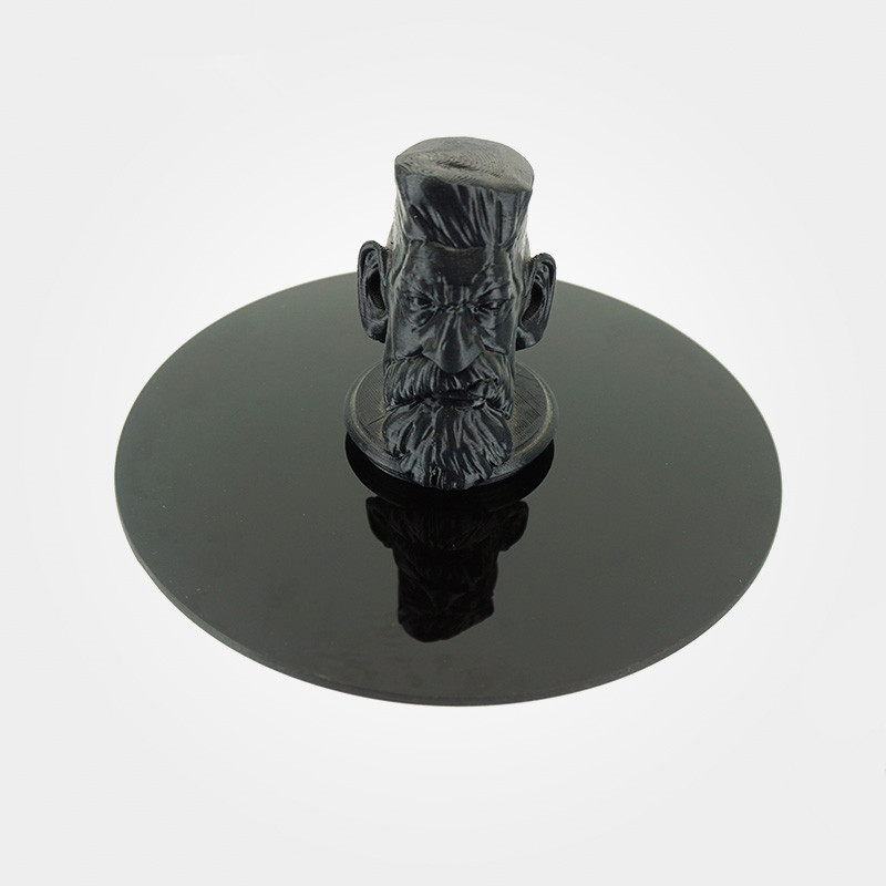 1 pièces 200mm Dia ronde ultrabase 3D impression plaque de construction pour Kossel Delta imprimante 3D