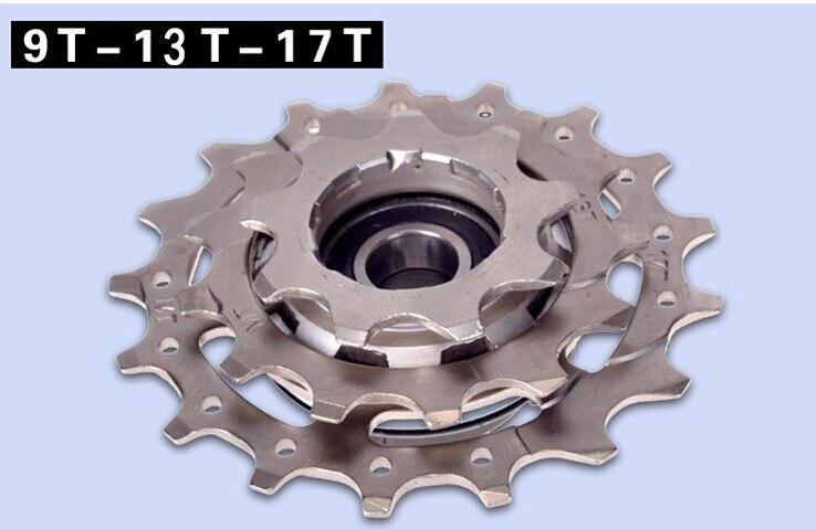Vélo pliant vélo roue libre externe 3 vitesse roue libre 9 T 13 T 17 T bmx roue libre BYA412