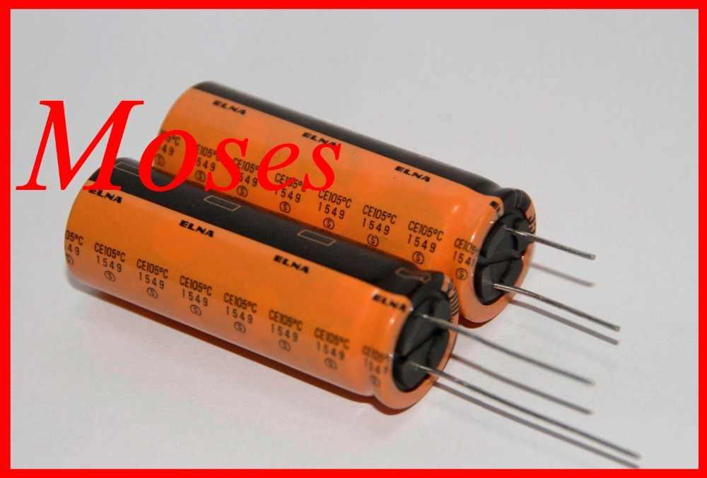 Оригинальный новый Электролитический конденсатор серии ELNA RJD, 35 в, 8200 мкФ, радиальная емкость 18x51 мм (50 шт.)