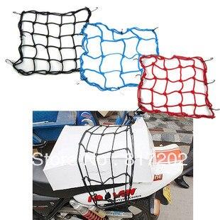 1 шт. Бесплатная доставка! Рухнула tkd Racing 6 Крючки 40x40 см ATV мотоцикла аксессуары мотоцикл Банджи Грузовой Чистая шлем чистая