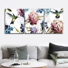 Kingfisher Nordic Wall Pictures Poster Print Canvas Painting Calligraphy Decor for Living Room Bedroom Home Frameless