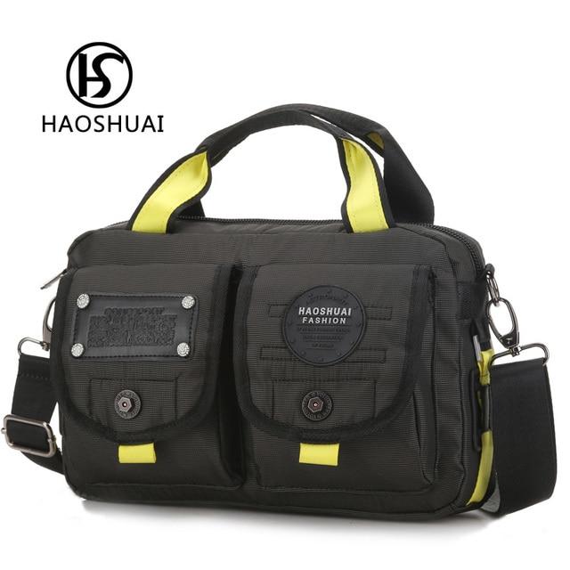 mens messenger business bag handbag men waterproof nylon tote shoulder tool bag  male handbags crossbody bag 2ec3ddea67195