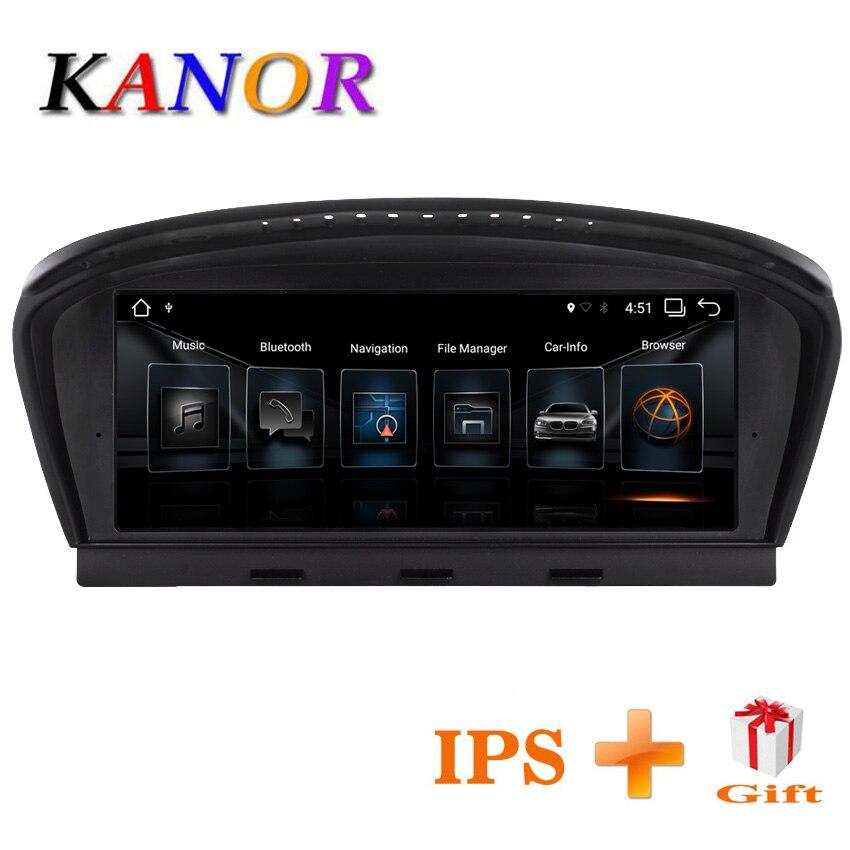 KANOR 8,8 дюйма 2 г + 32 г Android 7,1 автомобилей Радио мультимедийный плеер для BMW 5 серии E60 E61 E63 E64 E90 E91 E92 CCC CIC системы